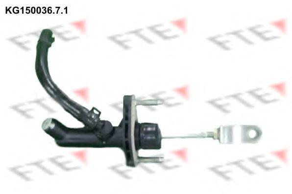 Главный цилиндр, система сцепления FTE KG15003671
