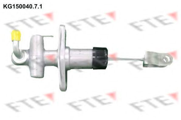 Главный цилиндр, система сцепления FTE KG15004071