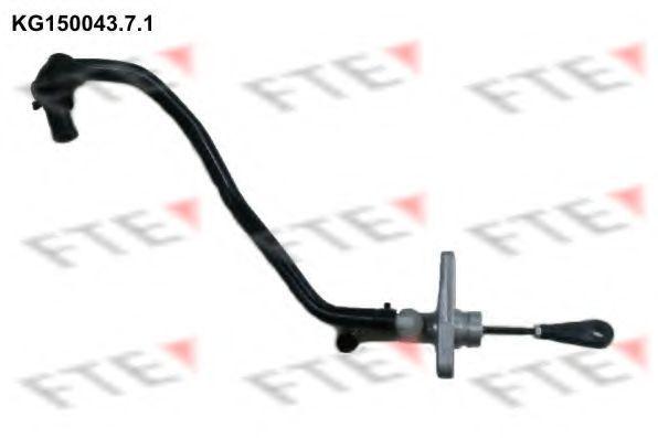 Главный цилиндр, система сцепления FTE KG15004371