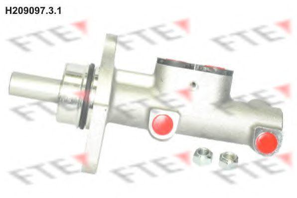 Главный тормозной цилиндр FTE H20909731