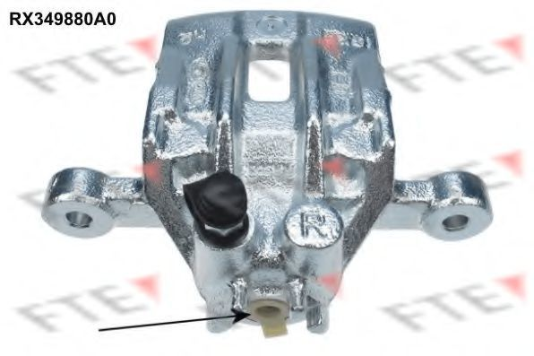 Тормозной суппорт FTE RX349880A0