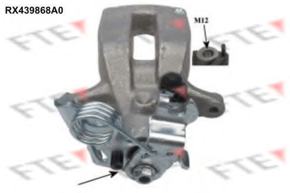 Тормозной суппорт FTE RX439868A0
