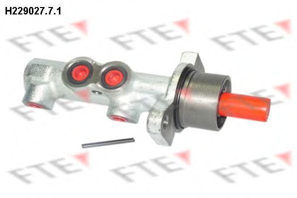 Главный тормозной цилиндр FTE H22902771