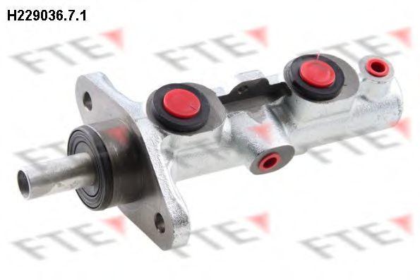 Главный тормозной цилиндр FTE H22903671