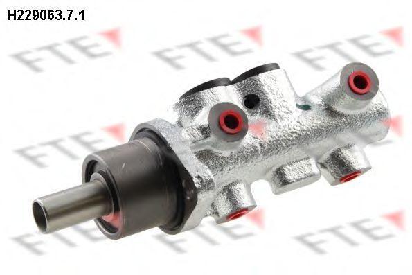 Главный тормозной цилиндр FTE H22906371
