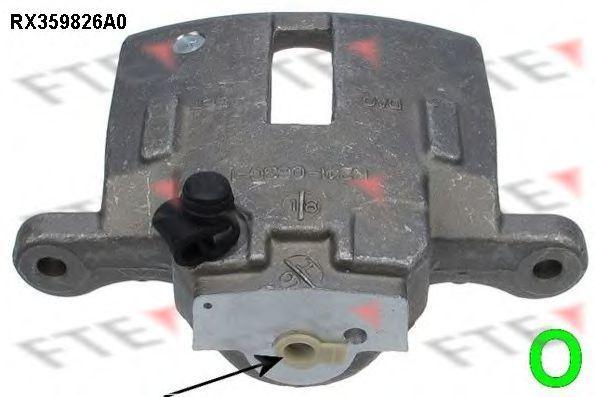 Тормозной суппорт FTE RX359826A0