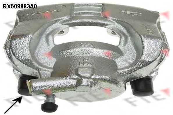 Тормозной суппорт FTE RX609883A0