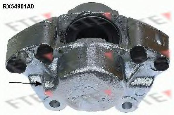 Тормозной суппорт FTE RX54901A0