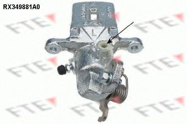 Тормозной суппорт FTE RX349881A0