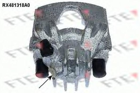 Тормозной суппорт FTE RX481318A0