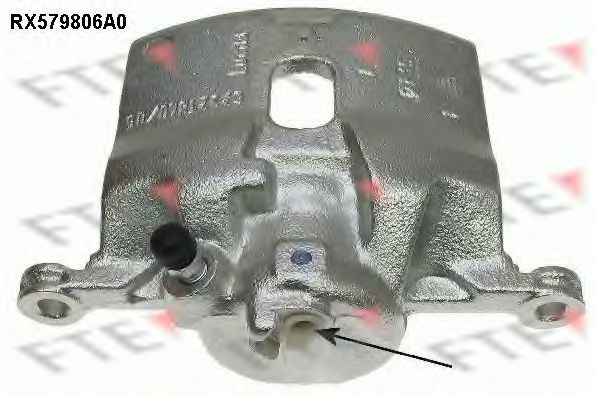 Тормозной суппорт FTE RX579806A0
