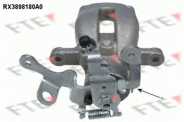 Тормозной суппорт FTE RX3898180A0