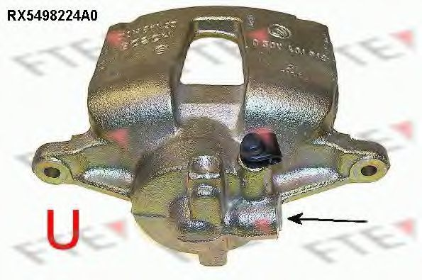 Тормозной суппорт FTE RX5498224A0