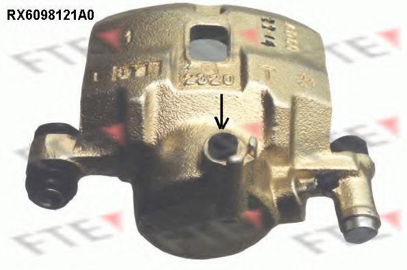 Тормозной суппорт FTE RX6098121A0