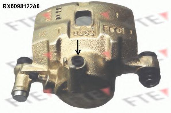Тормозной суппорт FTE RX6098122A0
