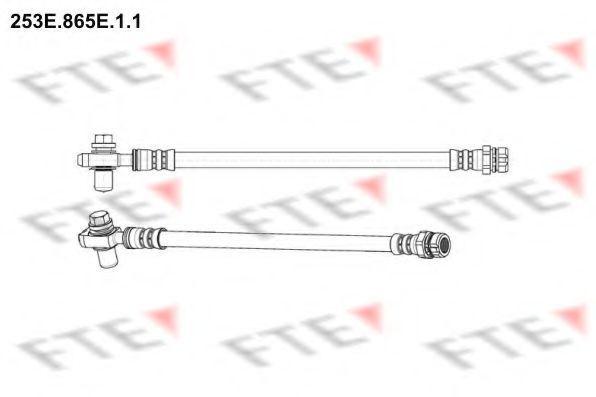 Тормозной шланг FTE 253E865E11