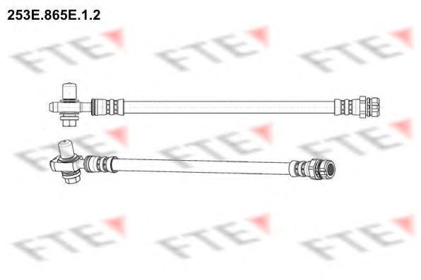 Тормозной шланг FTE 253E865E12