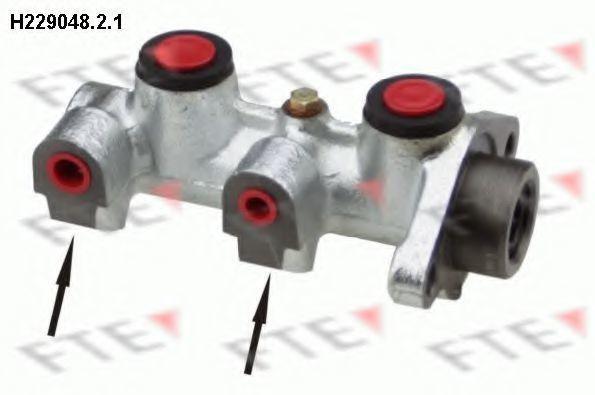 Главный тормозной цилиндр FTE H22904821