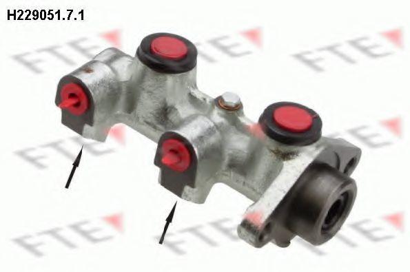 Главный тормозной цилиндр FTE H22905171