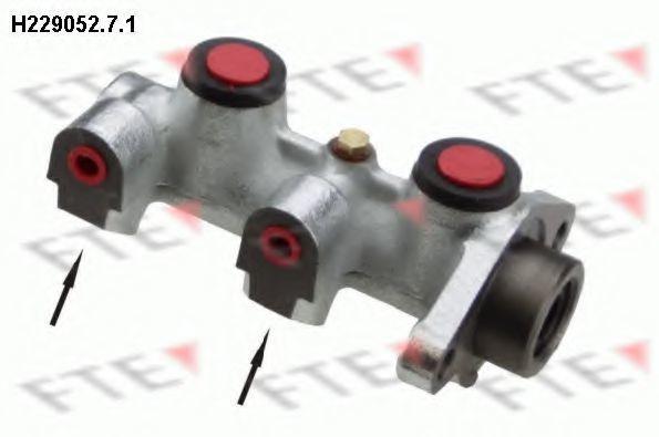 Главный тормозной цилиндр FTE H22905271