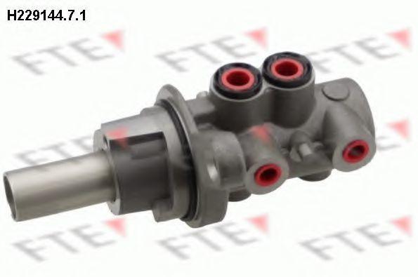 Главный тормозной цилиндр FTE H22914471