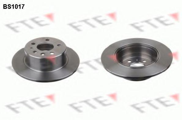 Тормозной диск FTE BS1017