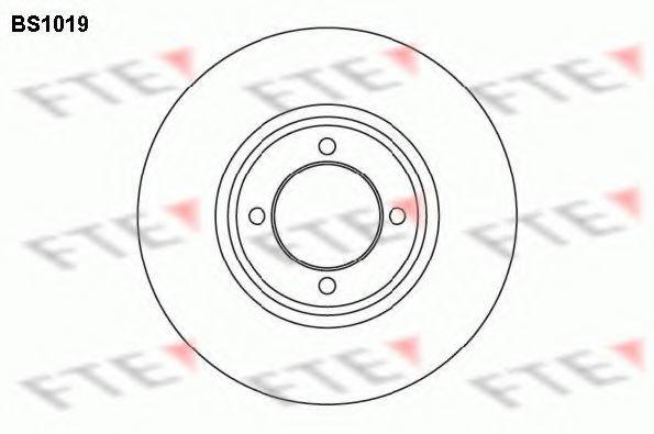 Тормозной диск FTE BS1019