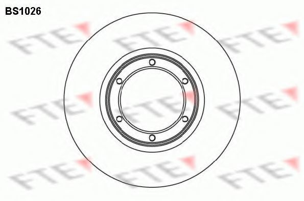 Тормозной диск FTE BS1026