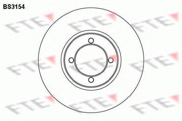 Тормозной диск FTE BS3154