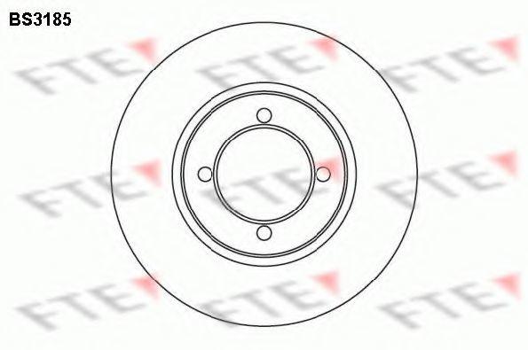 Тормозной диск FTE BS3185