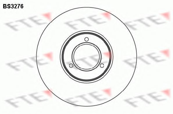Тормозной диск FTE BS3276