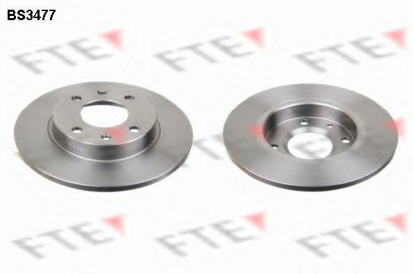 Тормозной диск FTE BS3477