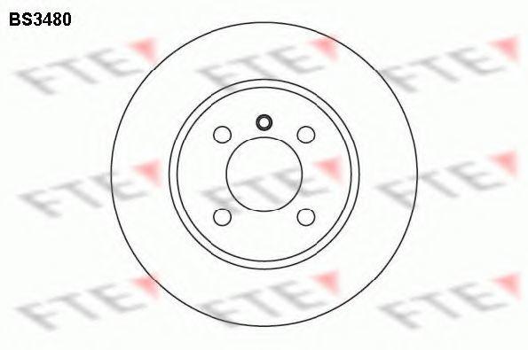 Тормозной диск FTE BS3480
