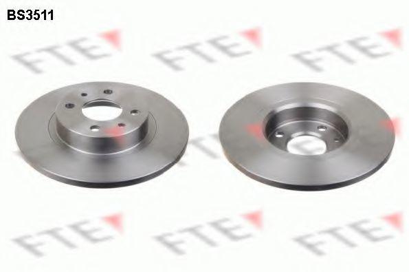Тормозной диск FTE BS3511