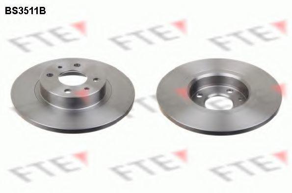 Тормозной диск FTE BS3511B