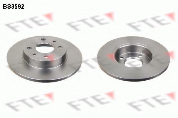 Тормозной диск FTE BS3592