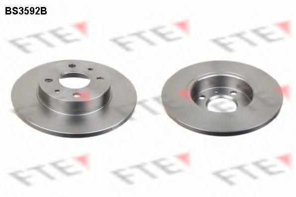 Тормозной диск FTE BS3592B