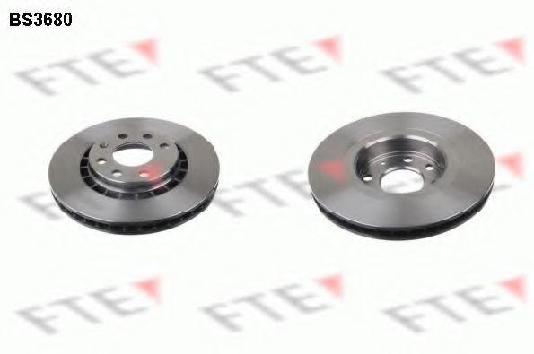 Тормозной диск FTE BS3680