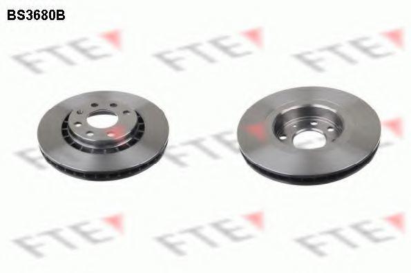 Тормозной диск FTE BS3680B