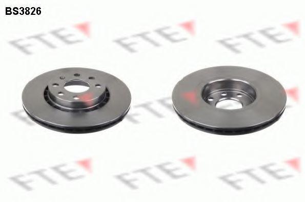 Тормозной диск FTE BS3826