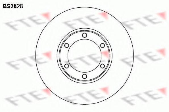 Тормозной диск FTE BS3828