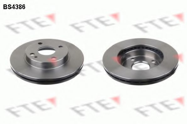 Тормозной диск FTE BS4386