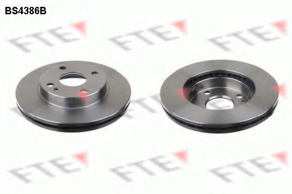 Тормозной диск FTE BS4386B