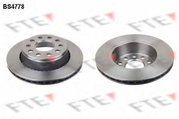 Тормозной диск FTE BS4778