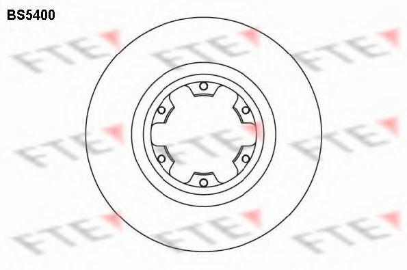Тормозной диск FTE BS5400