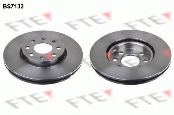 Тормозной диск FTE BS7133
