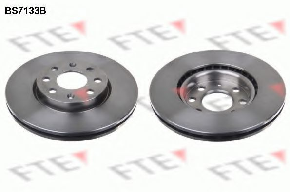 Тормозной диск FTE BS7133B