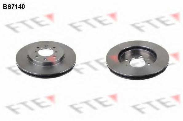Тормозной диск FTE BS7140