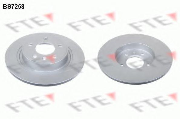 Тормозной диск FTE BS7258