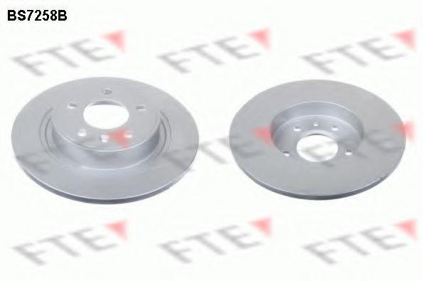 Тормозной диск FTE BS7258B